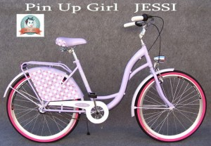 Rower Pin Up Girl Jessi